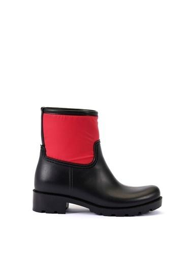 Esem ESEM B0007 Yağmur Botu Kadın Ayakkabı  Kırmızı